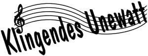 Logo KlingendesUnewatt - das Sommerkonzert der Kreismusikschule Schleswig-Flensburg im Landschaftsmuseum Angeln/Unewatt