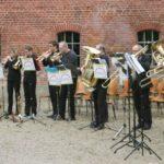 Brass-Ensemble der Kreismusikschule beim Sommerkonzert 2015