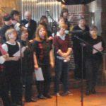 Chor der Kreisverwaltung Schleswig bei einem Konzert in Fockbek 2014