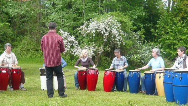 Ensembles-Conga-Gruppe ANABACOA Schleswig 2013