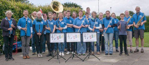 Das Satruper Blasorchester SBO der Kreismusikschule Mittelangeln-Satrup