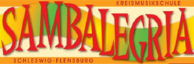 "Logo der Samba-Band ""Sambalegria"" aus Schleswig"
