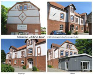 Bezirk-Mittelangeln - Gebäude Alte-Schule-Satrup