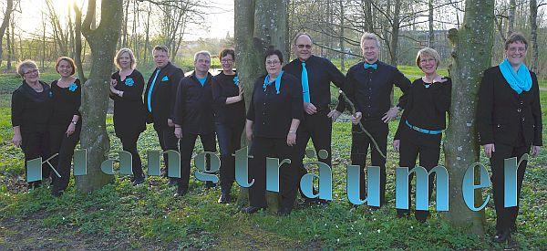 Chor-Ensemble 'Klangträumer' aus Treia, Leitung Gesa Thomsen