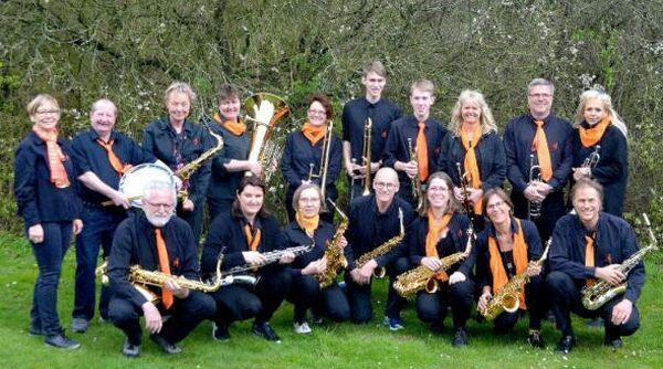 """Die """"Pa's Brass Band"""" aus Wallsbüll"""