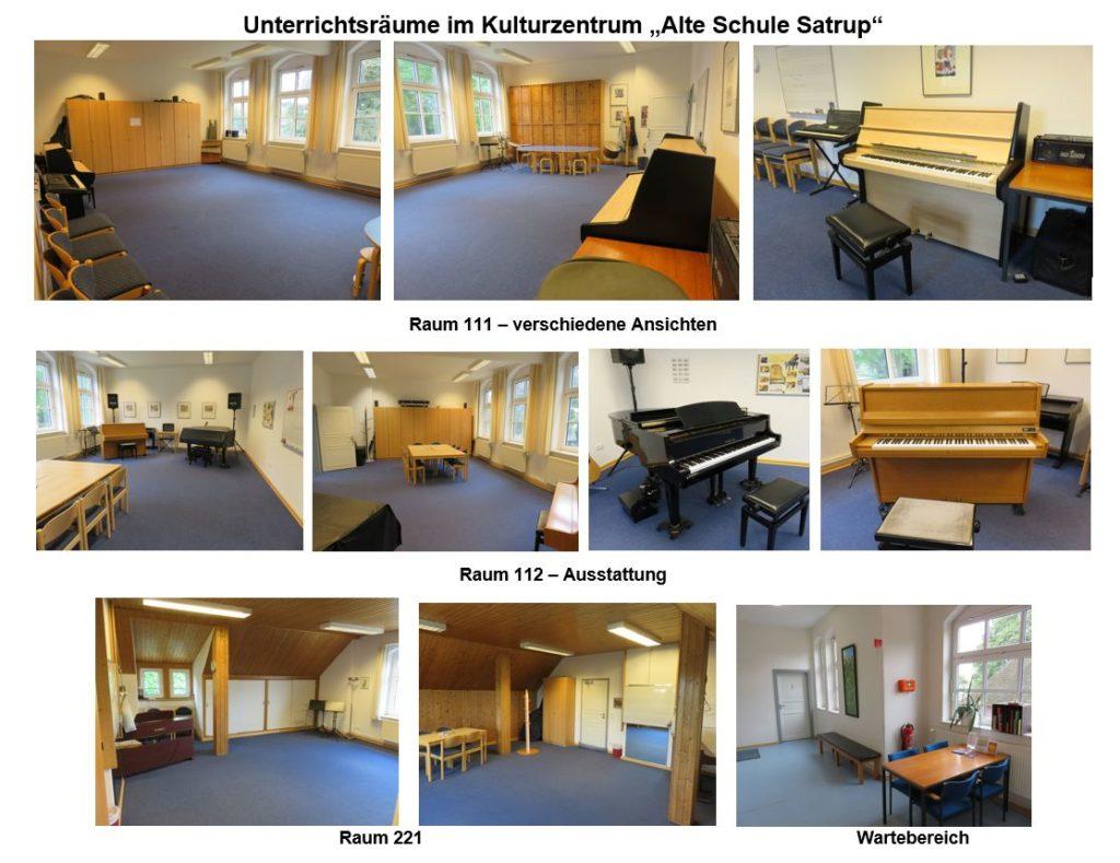 """Unterrichtsräume in der """"Alten Schule Satrup"""" - Fotos: Ulrich Matthaei"""