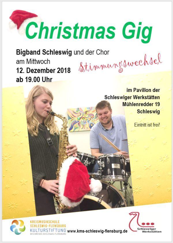 Christmas Gig - Bigband Schleswig am 12.12.2018