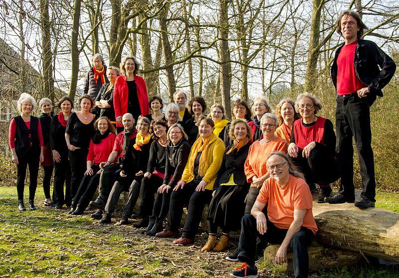Der 'Chor-O-na' mit Björn Mummert aus Schleswig - Foto: Ronja Petersen