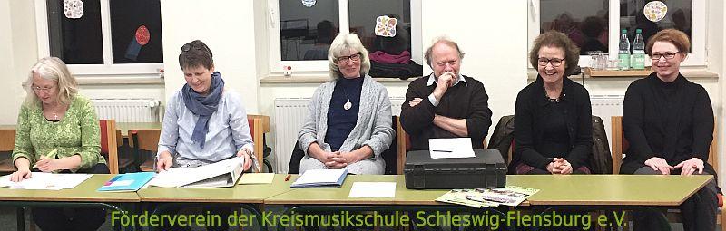 Fördervereins KMS Vorstand 21.3.2019