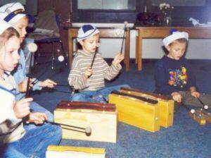 Kappeln MFE-Kinder mit Klangkästen