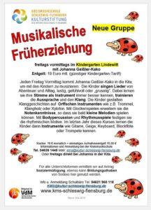 Freie Plätze: Lindewitt Kindergarten MFE-Gruppe 5-2019
